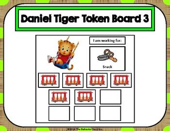 Daniel Tiger 10 Token Board 3