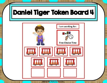 Daniel Tiger 10 Token Board 4