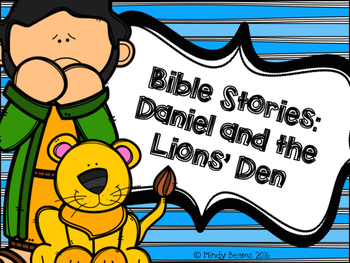 Daniel and the Lions' Den Activity Pack