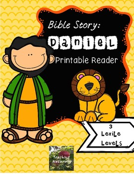 Daniel and the Lions' Den Printable Reader