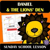 Daniel and the Lions' Den | Sunday School Lesson and Activities