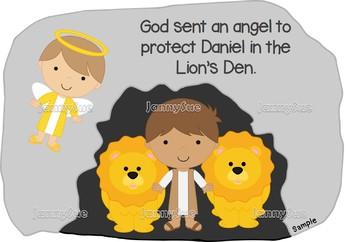 Daniel and the lion's den Sunday School craft