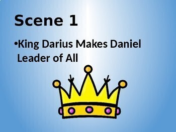 Daniel in the Lions Den - A Fun and Easy Play for Chapel - PowerPoint Version