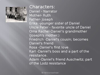 Daniel's Story, a PowerPoint introduction to the Holocaust Novel
