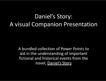 Daniel's Story : A Visual Companion to Help Build Understanding