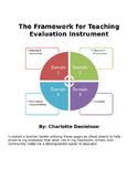 Danielson Cheat Sheets great for Evaluations