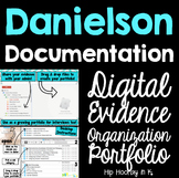 Danielson Documentation - Evidence Organization Portfolio for Teachers