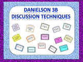 Danielson Domain 3B Discussion and Questioning Techniques