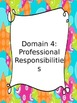 Danielson Domains: Evidence Binder Dividers