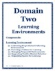 Danielson Evaluation Documentation Domain Dividers