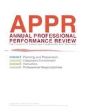 Danielson Framework: Performance Review