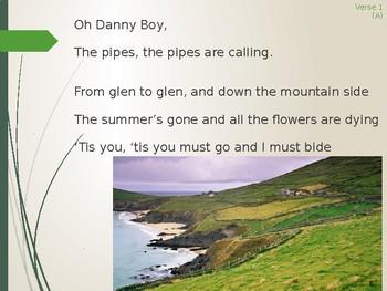 Danny Boy Animated Sing-Along