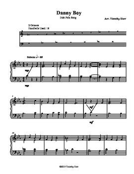 Danny Boy for Tone Chimes/ Choir Chimes