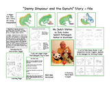 Danny Dino & the Donuts A Bilingual Phonemic Awareness Story