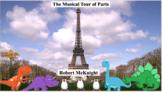 Danny Dinosaur & Friends: A Soundscape Book Series - #5 Musical Tour of Paris