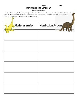Danny and the Dinosaur Fiction and Nonfiction