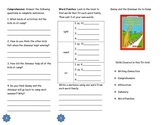 Danny and the Dinosaur Go to Camp Comprehension Tri-fold
