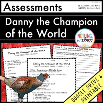 Danny the Champion of the World: Tests, Quizzes, Assessments