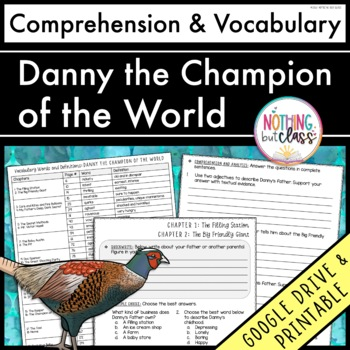 Danny the Champion of the World: Comprehension Questions by chapter