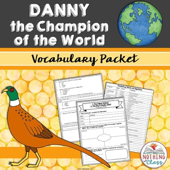 Danny the Champion of the World: Vocabulary Words with Activities