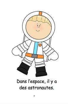 Dans L'Espace (French Reader)