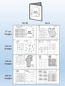 Dans l'étang / In the Pond FRENCH Games & Mini activity book Combo