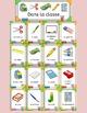 Dans la classe - French classroom school vocabulary activi