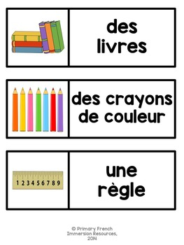 Dans ma salle de classe - Mini book and centres – #1-10 & classroom objects