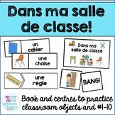 Dans ma salle de classe - Mini book and centres – #1-10 &