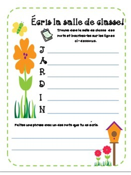 Dans mon jardin: A Garden Themed, Centre-Based Math & Literacy Unit