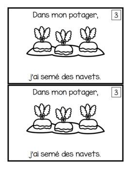 Dans mon potager (for emergent readers)