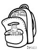 Dans mon sac d'école - Flip Book