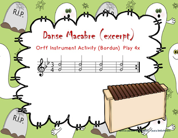 Danse Macabre - A guided listening activity and Orff Arrangement