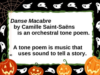 Danse Macabre: Connecting Music and Art (Halloween)