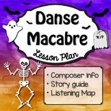 Danse Macabre Music Lesson, Listening Map, Composer