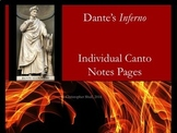 Dante's Inferno Individual Notes Pages PDF