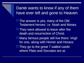 Dante's Inferno Canto 4-6 Powerpoint