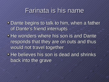 Dante's Inferno Cantos 10-12