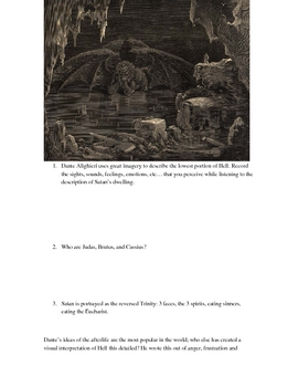 Dante's Inferno - Fraud Study Packet