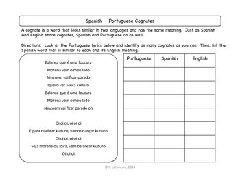 """Danza Kuduro"" & Spanish Affirmative Tú (Informal) Commands"