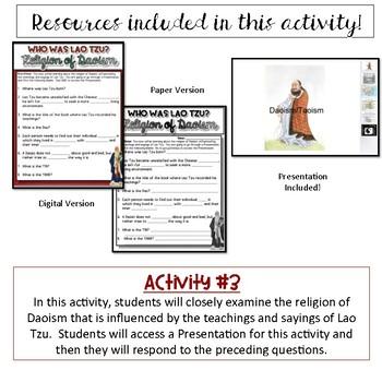 Daoism Activity