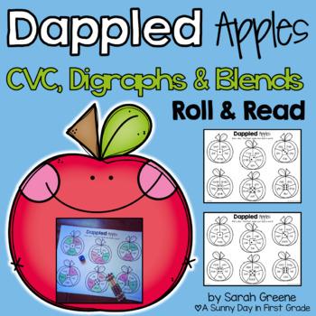 Dappled Apples Roll & Read (CVC, digraphs & blends)