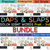 Daps & Slaps: Dolch Sight Words BUNDLE for PreK - 3RD