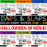 Daps & Slaps: Dolch Sight Words BUNDLE for PreK - 3RD {Hal