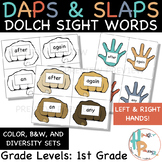 Daps & Slaps: Dolch Sight Words for 1ST GRADE