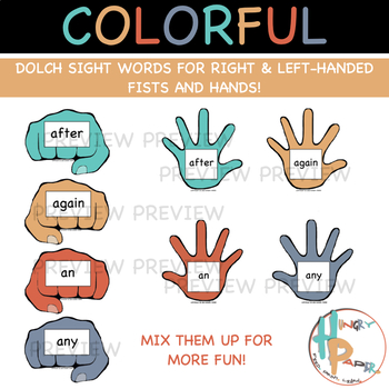 Daps & Slaps: Dolch Sight Words for 1ST GRADE