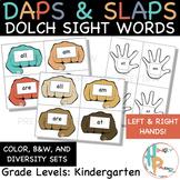 Daps & Slaps: Dolch Sight Words for Kindergarten