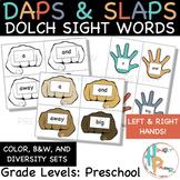 Daps & Slaps: Dolch Sight Words for PreK