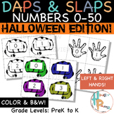 Daps & Slaps: Numbers 0-50 {Halloween Edition}