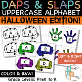 Daps & Slaps: Uppercase Alphabet {Halloween Edition}
